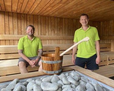 Es wird noch heißer: Balneon öffnet Sauna und Rutschen