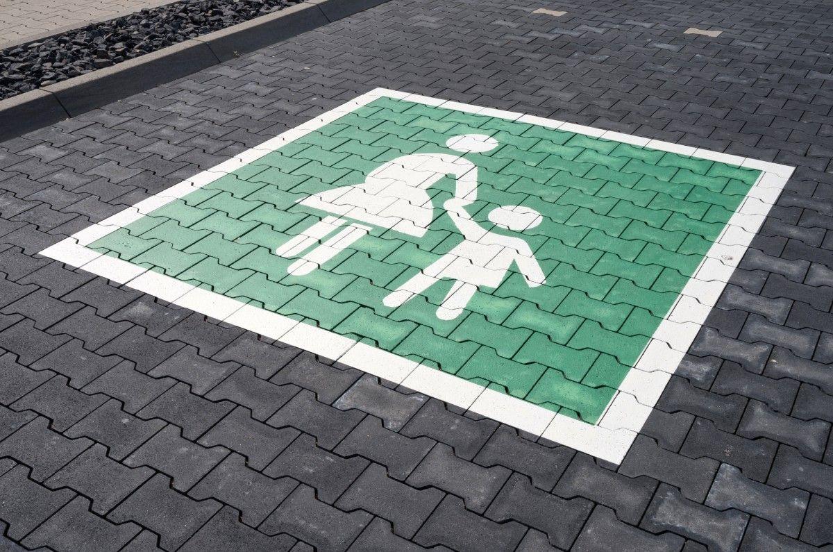Familienparkplatz