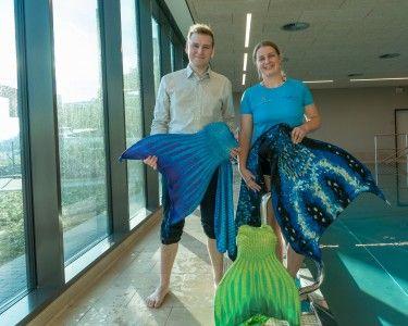 Meerjungfrau-Schwimmen startet!