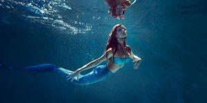 Meerjungfrau-Schwimmen